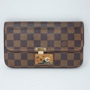100% Auth Louis Vuitton Pochette Ascot Wallet